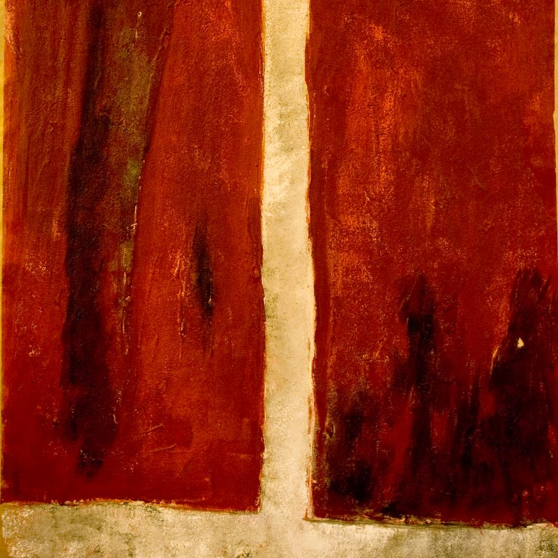 """abstract art """"Heart 2"""" Mischtechnik, DIN A 0"""