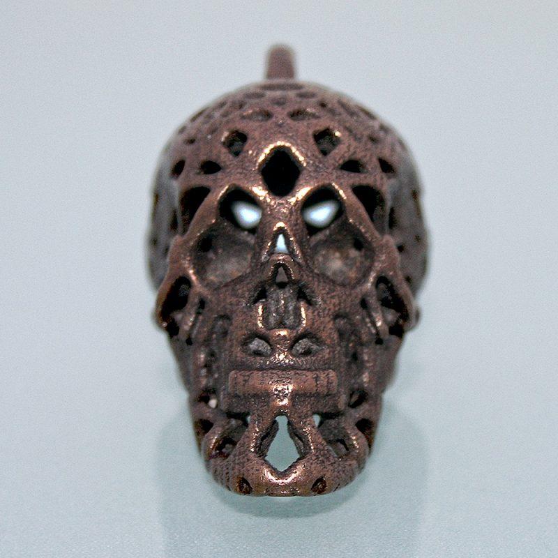 Anhänger Großer Totenkopf - Gotik - Dunkelheit - Skull - Schädel - Kult - Totenschädel