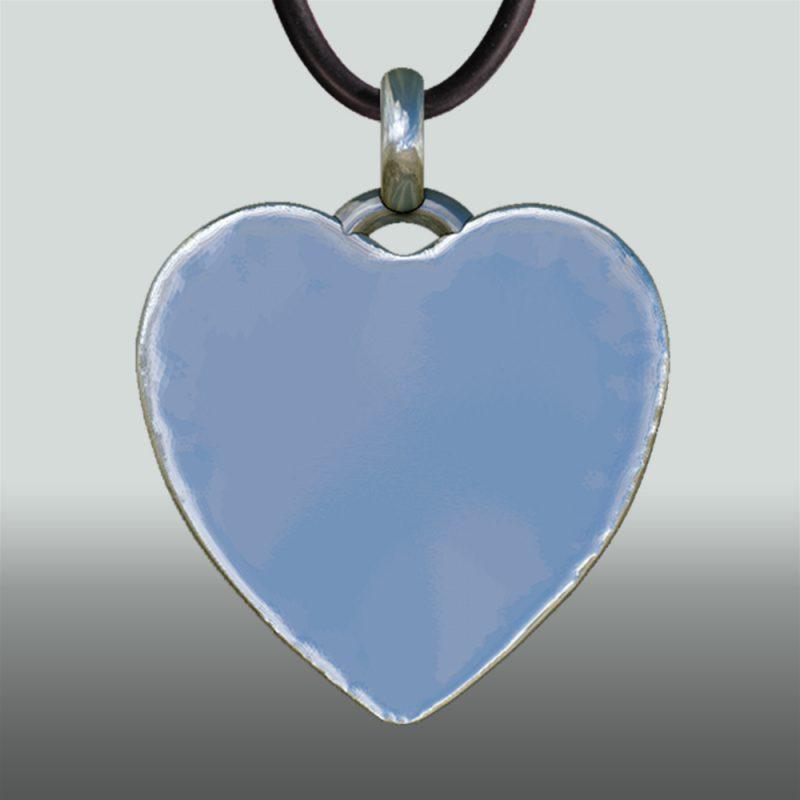 Herzanhänger Beating Heart -Rückseite