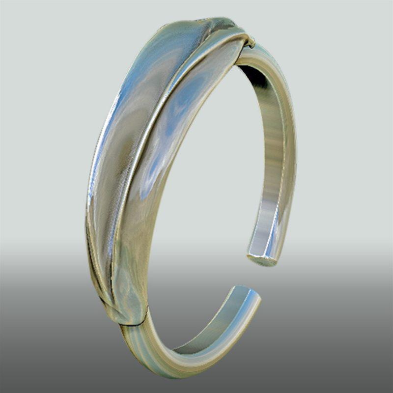 Erotikschmuck, Yoni Ring, silber