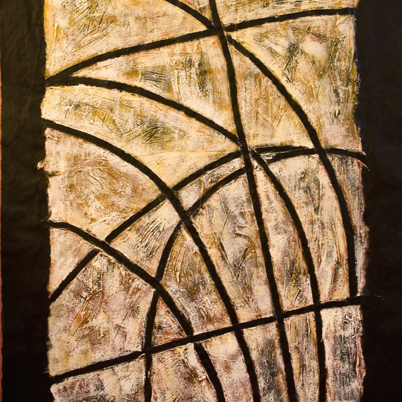 """abstract art """"Shadow 3"""" DIN A 0"""