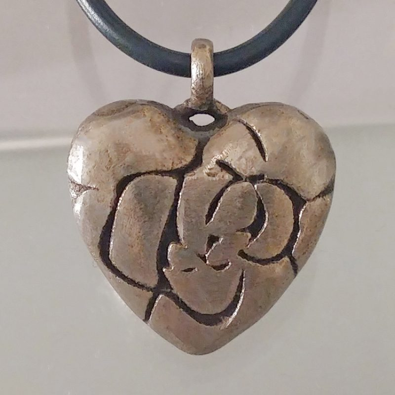 Erotikschmuck, Herzanhänger Rose Heart