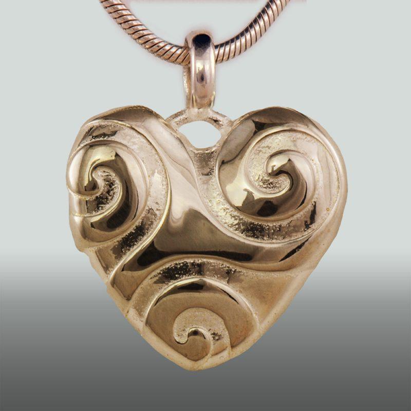 Erotikschmuck, Anhänger Spiral Heart